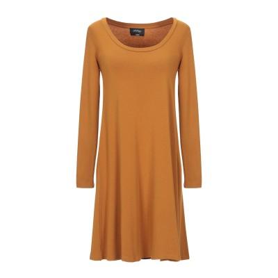 OTTOD'AME ミニワンピース&ドレス キャメル 40 レーヨン 97% / ポリウレタン 3% ミニワンピース&ドレス