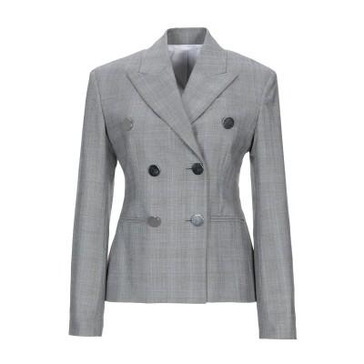 CALVIN KLEIN 205W39NYC テーラードジャケット ライトグレー 42 ウール 100% テーラードジャケット
