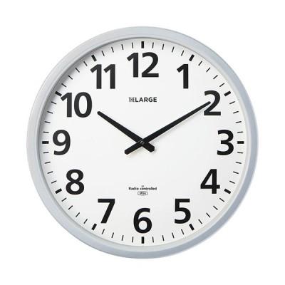 キングジム ラドンナ 電波掛時計 ザラージ 省電力・防滴型 GDKB−001 1台 (お取寄せ品)