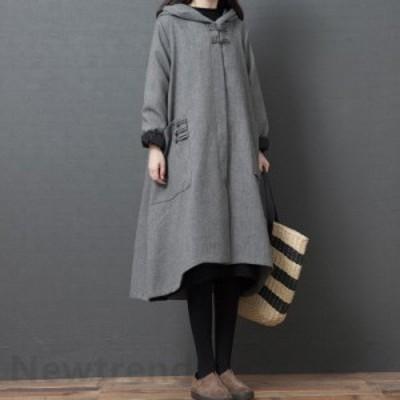 ワンピース レディース 40代 秋冬 長袖 きれいめ 上品 ニットワンピース ロング丈 セーター マキシ 大きいサイズ パーティードレス 韓国