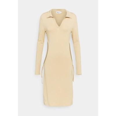 エヌエーケイディー レディース ファッション Shift dress - beige