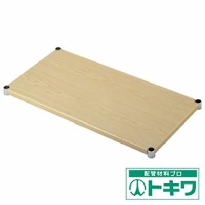 TRUSCO スチール製メッシュラック用木製棚板 592X442 MEW-24S ( 2565927 )