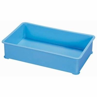 サンコー PP特大カラー番重 B型 ブルー ABV8704