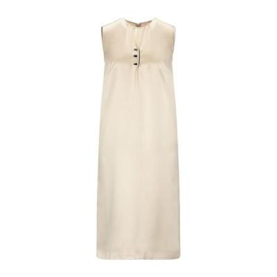 MAISON MARGIELA シルクドレス  レディースファッション  ドレス、ブライダル  パーティドレス ベージュ