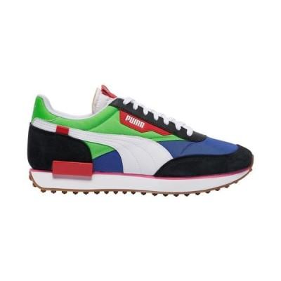 (取寄)プーマ メンズ シューズ プーマ フューチャー ライダーMen's Shoes PUMA Future RiderBlack Fluo Green Dazzling Blue
