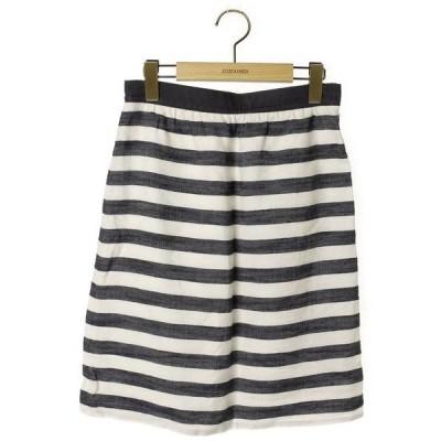スカート ボーダー柄スカート