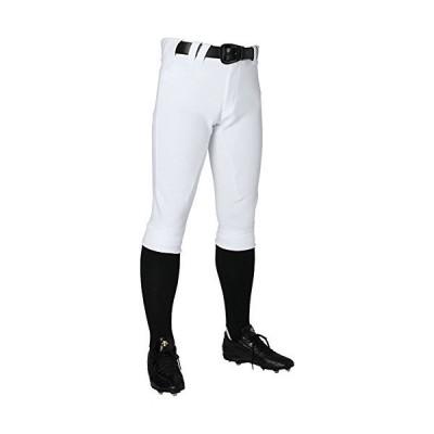 DESCENTE(デサント) 野球 ユニフォーム ショートフィットパンツ ユニフィットパンツ アンリミテッド ショート丈 Sホワイト Mサイズ DBM