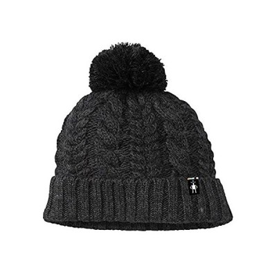 Smartwool Ski Town Hat Charcoal Heather One Size