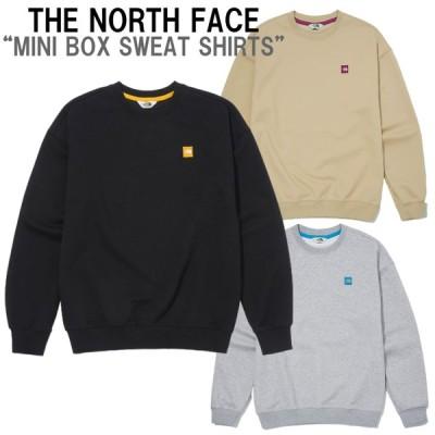 新作 THE NORTH FACE  ザ ノースフェイス MINI BOX SWEAT SHIRT ミニボックス スウェット シャツ