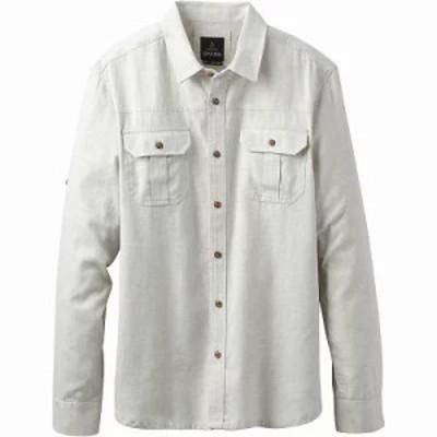 プラーナ シャツ Cardston LS Shirt Grey Heather
