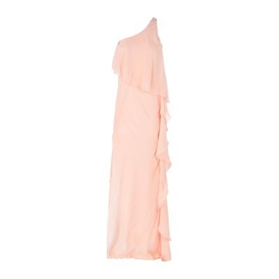 パトリティア ペペ セーラ PATRIZIA PEPE SERA ロングワンピース&ドレス ライトピンク 38 100% レーヨン ロングワンピース