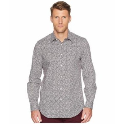 Perry Ellis ペリーエリス 服 一般 Floral Print Stretch Shirt
