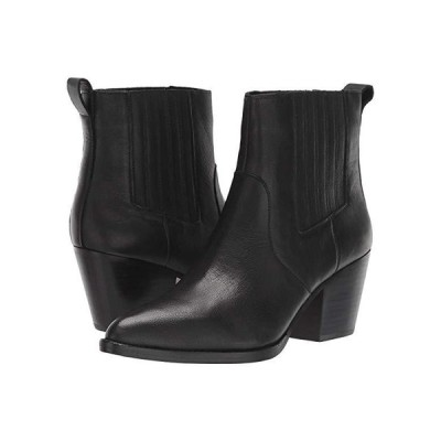 J.Crew Leather Chelsea Western Boot レディース ブーツ Black