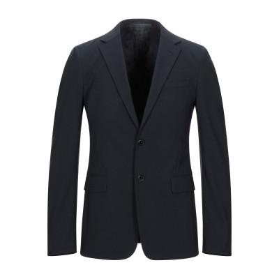 プラダ PRADA テーラードジャケット ダークブルー 52 バージンウール 96% / ポリウレタン 4% テーラードジャケット