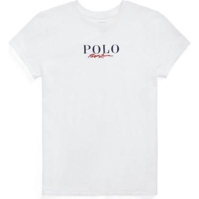 ラルフ ローレン POLO RALPH LAUREN レディース Tシャツ トップス Logo Cotton Tee White