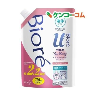ビオレu ザ ボディ The Body 液体タイプ ブリリアントブーケの香り つめかえ用 ( 750ml )/ ビオレU(ビオレユー)