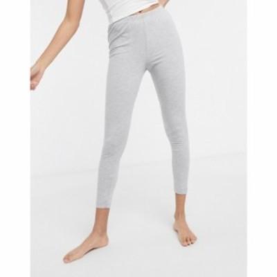 エイソス ASOS DESIGN レディース ジョガーパンツ ボトムス・パンツ mix and match jersey pyjama legging in grey marl グレー