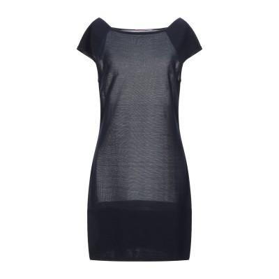 MILA SCHÖN CONCEPT ミニワンピース&ドレス ダークブルー 46 シルク 100% ミニワンピース&ドレス