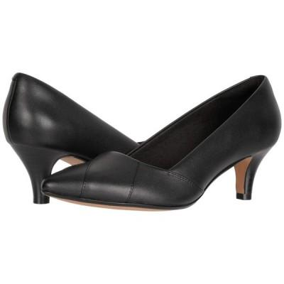 クラークス Clarks レディース パンプス シューズ・靴 Linvale Sage Black Leather