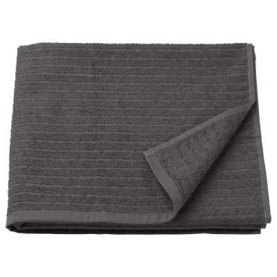 IKEA/イケア VAGSJON:バスタオル70x140 cm ダークグレー (103.536.09)