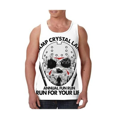 CUTEDWARF Camp Crystal Lake Counselor Mens Senior Vest Sleeveless Top T-Shi