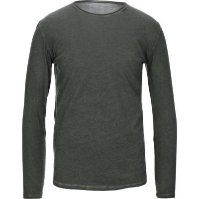 マジェスティック MAJESTIC FILATURES メンズ Tシャツ トップス t-shirt Military green