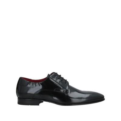 PAL ZILERI CERIMONIA レースアップシューズ  メンズファッション  メンズシューズ、紳士靴  その他メンズシューズ、紳士靴 ブラック