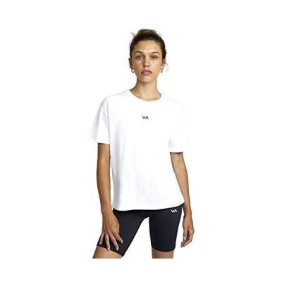 RVCA Sport Va Essential Sport Tee White Large並行輸入品