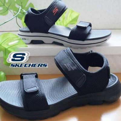 スケッチャーズ SKECHERS メンズ サンダルゴーウォーク5 スポサン コンフォート ブラック 黒 229003 hawks202110