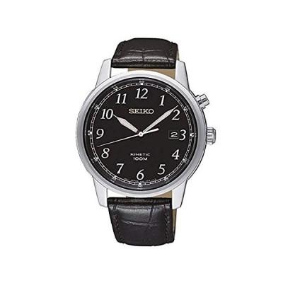 特別価格Seiko Kinetic Black Dial Mens Watch SKA781好評販売中