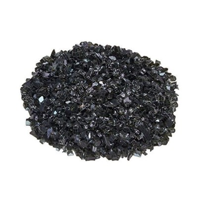 Duluth Forge 1/4 in. Premium Reflective Black Fire Glass - 10 lb. Bag Fire Pit Glass 14Rblkgm【並行輸入品】