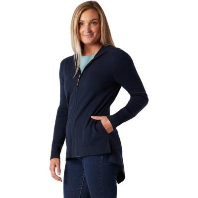 スマートウール ニット&セーター レディース アウター Everyday Exploration Sweater Jacket - Women's Deep Navy
