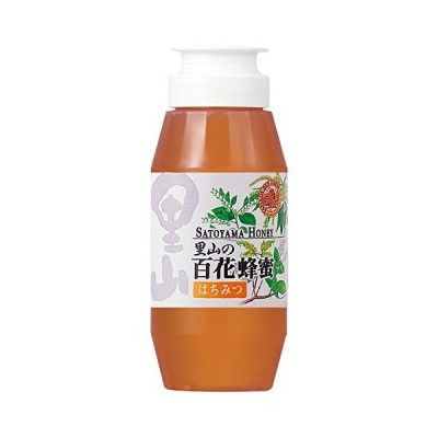 里山の百花蜂蜜国産 300gプラ容器入
