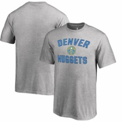 Fanatics Branded ファナティクス ブランド スポーツ用品  Fanatics Branded Denver Nuggets Youth Heathered Gray Victory Arch T-Shirt