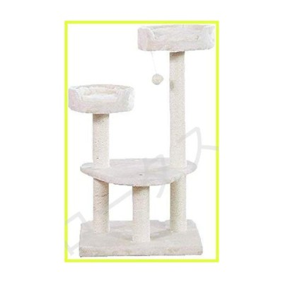 LLCC Cat Tower for Indoor Cats, Cat Toy Multifunction Plush Cat Climbing Frame Chipboard Rest Platform Pillar Cat Tree Solve The Hobby of Ca