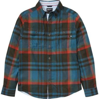 マーモット Marmot メンズ シャツ ネルシャツ トップス Del Norte Midweight Flannel Long - Sleeve Shirt Stargazer