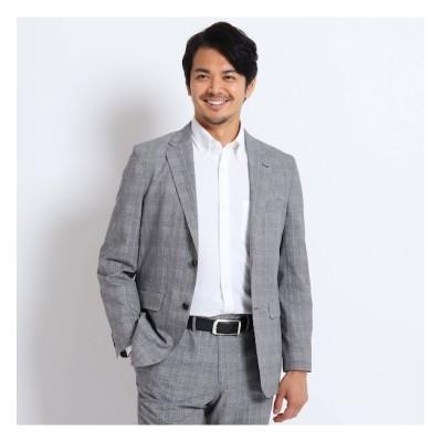 【タケオキクチ/TAKEO KIKUCHI】 【Sサイズ~】グレンチェックプリントジャケット