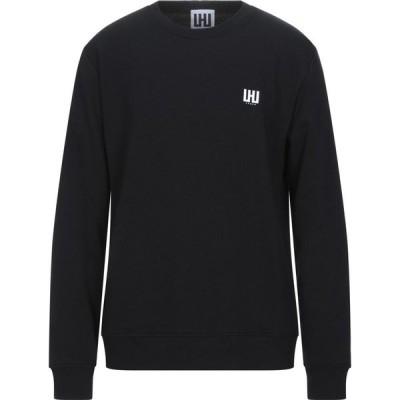 LHU アーバン LHU URBAN メンズ スウェット・トレーナー トップス Sweatshirt Black