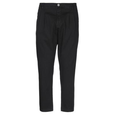 アリーニ AGLINI パンツ ブラック 28 コットン 97% / ポリウレタン 3% パンツ