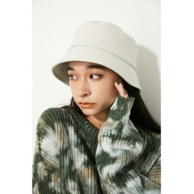 LAGUA GEM / F/LEATHER BUCKET HAT WOMEN 帽子 > キャップ