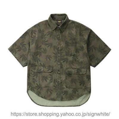ワーク 半袖  サャー ワークシャツ ビンテージ クラッシック カジュアル カジュアルシャツ メンズ メンズファッショジファッション