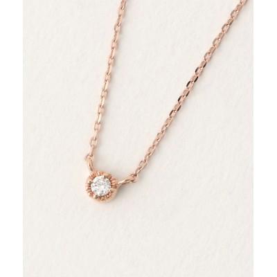 ete / K10 レイヤー ダイヤモンド ネックレス WOMEN アクセサリー > ネックレス