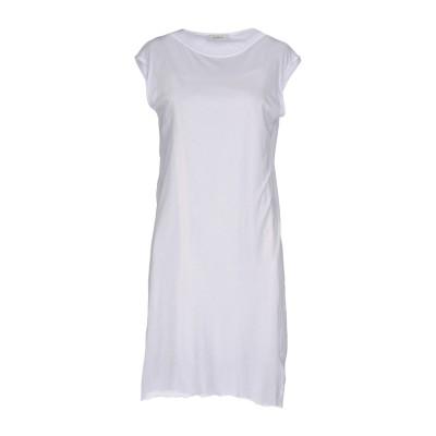 アルファスタジオ ALPHA STUDIO ミニワンピース&ドレス ホワイト 42 レーヨン 70% / ポリエステル 30% ミニワンピース&ドレス