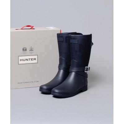 レインシューズ 【 HUNTER / ハンター 】womens refined jacquard short boot リファインドジャカードショート
