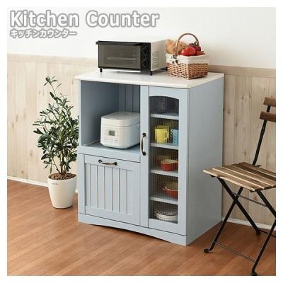 Azur アジュール キッチンカウンター バイカラーのおしゃれなフレンチカントリーデザイン