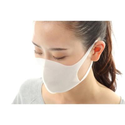 洗えるマスク 送料無料 5枚入り 立体マスク ホワイト色 新ポリウレタン素材 個包装