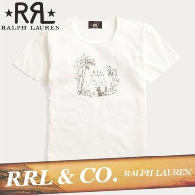 RRL ダブルアールエル Tシャツ 半袖 メンズ トロピカル プリント ジャージー 丸首 XS〜XXL ラルフローレン 新作