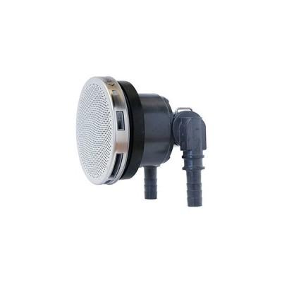 カクダイ 一口循環金具10A ペア耐熱管用 S・L兼用 取付穴径50mm・厚さ15mm以下の浴槽用 フック棒・バンド付 PPS製 415-218