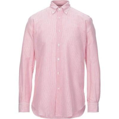 ブルックス ブラザーズ BROOKS BROTHERS メンズ シャツ トップス Linen Shirt Rust