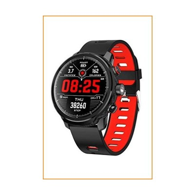 Fitness Tracker Bluetooth Waterproof Smart Watch Heart Rate Blood Pressure Monitoring Outdoor Smart Sports Watch with for Men Women【並行輸入品